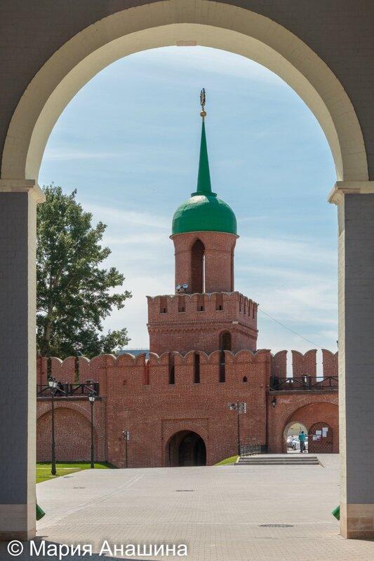 Башня Одоевских ворот, Тула
