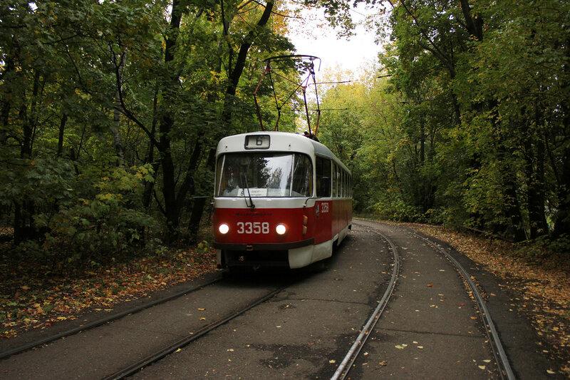 Трамвай 3358