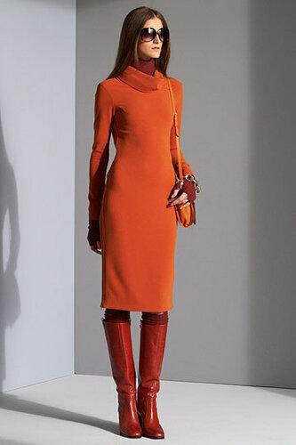 Мода осень 2011 от Diane Von Furstenberg