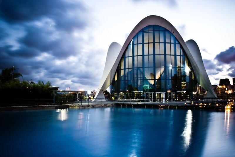 City of Art and Science - город искусства и науки. Потрясающий воображение архитектурный комплекс в Валенсии (Испания)