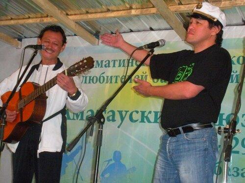 Владимир Бегунов и Николай Хан