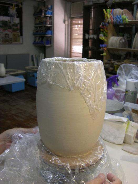 Супер ваза из куска глины
