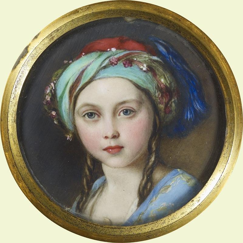 Уильям Эссекс (1784-1869)<br /> Виктория, королевская принцесса (1840-1901)