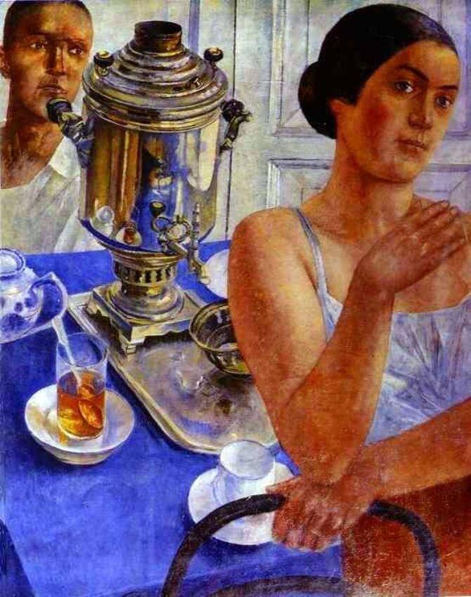 Петров-Водкин, Самовар, 1926г.