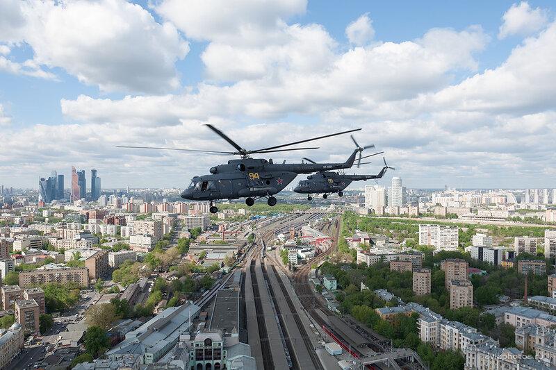 Миль Ми-8МТВ-5 (RF-91184 / 84 желтый) D708529