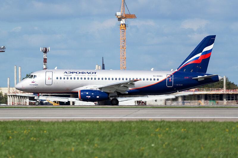 Сухой Superjet-100-95B (RA-89060) Аэрофлот 284_D807437