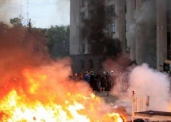 В результате пожара в одесском Доме профсоюзов погиб 31 человек