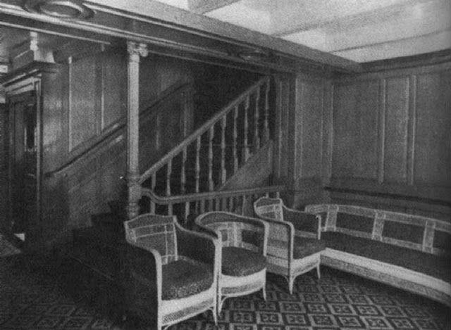 Как выглядел Титаник внутри