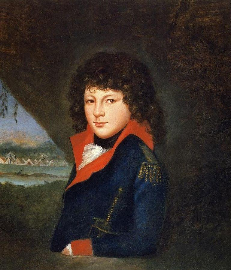 Рафаэль Пил. Рубенс Пил. 1795