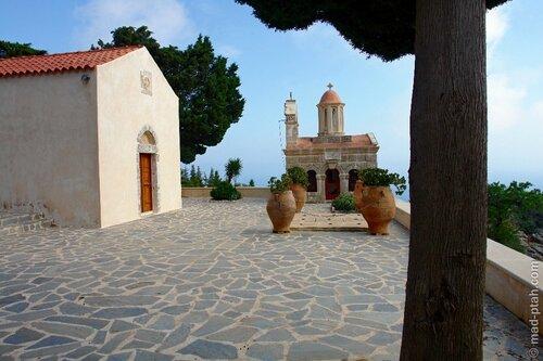 греция, крит, монастырь превели