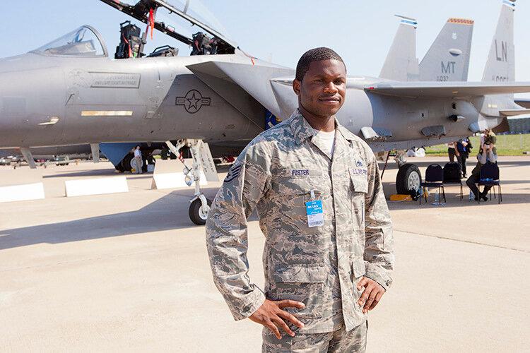 Пилот ВВС США Alex Foster