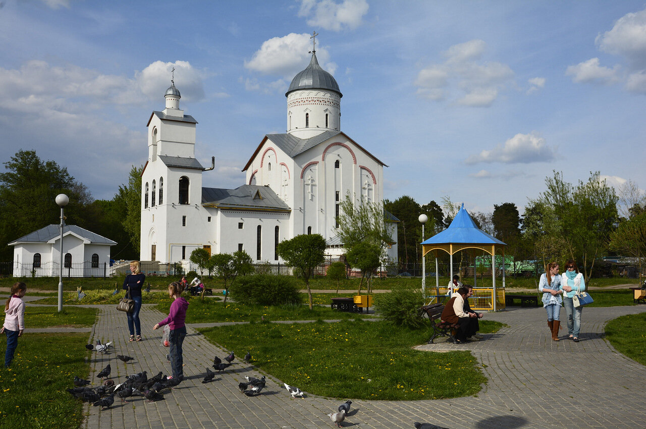 Храм святого благоверного князя Александра Невского, г.Гомель