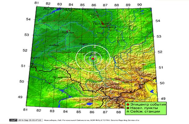 У русского острова Беринга произошли еще два землетрясения