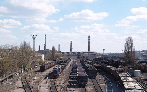 Работа Донецкого металлургического завода на100% остановлена из-за блокады