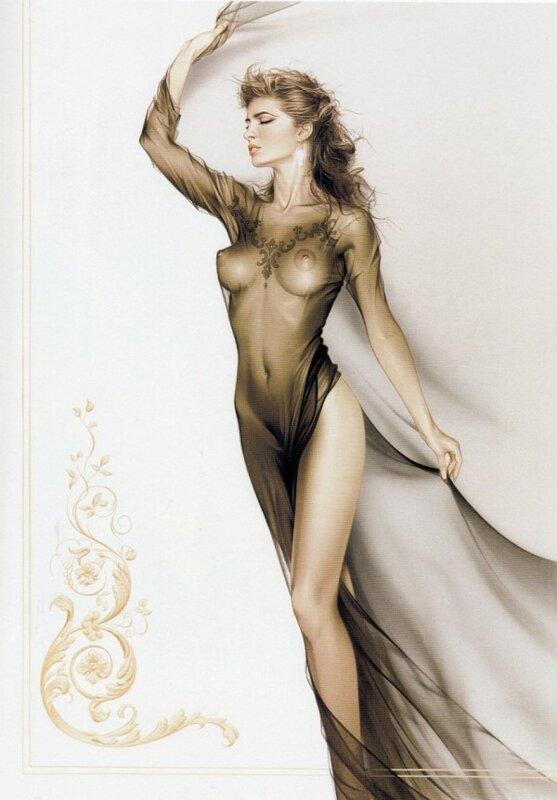 Красивые девушки от художника Michael Mobius.
