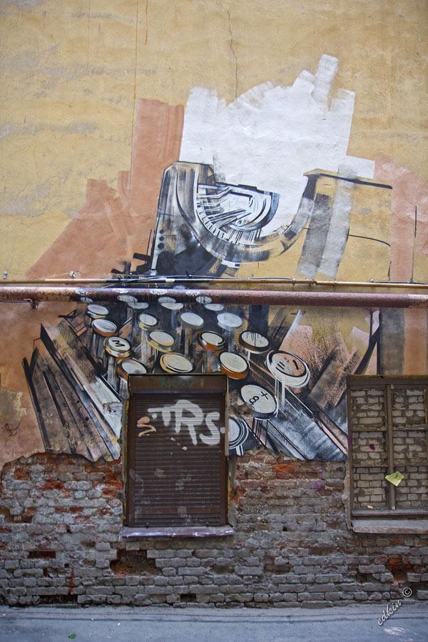 Санкт-Петербург, граффити