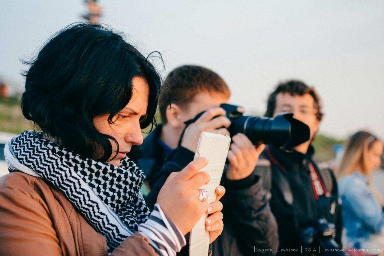 Куршская коса и блогеры