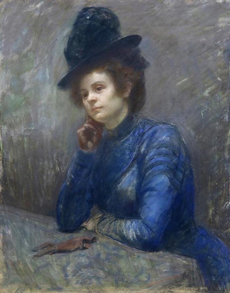 Femme en Contemplation.