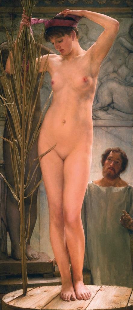 Модель скульптора. 1877, Альма-Тадема  Лоуренс(1836-1912).