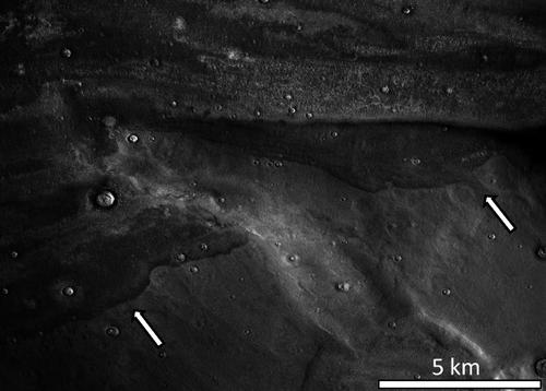 Ученые обнаружили на Марсе следы древних цунами