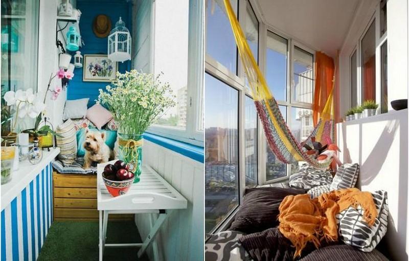 Обустраиваем балкон к летуc (11 фото) - интерьер & экстерьер.