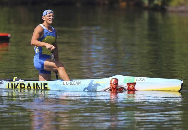 У Украины еще одно олимпийское золото: Юрий Чебан победил в гребле на каноэ (обновлено). ВИДЕО+ФОТОрепортаж