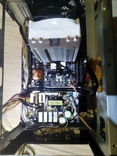 Mini-ITX минисервер/миникомп/handmade