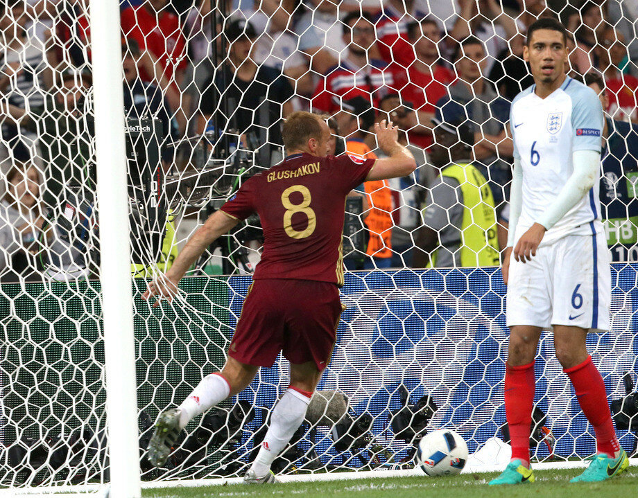 Чемпионат Европы. Англия - Россия