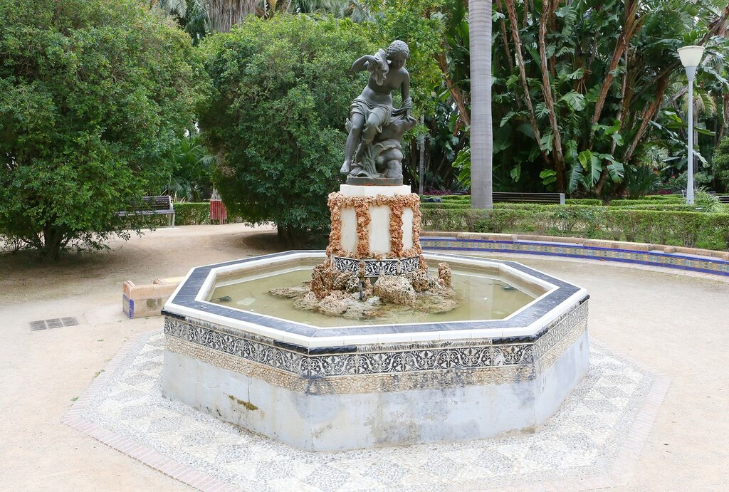 Парк Малага (Parque de Málaga).