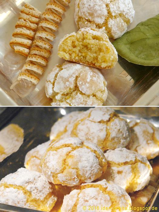 Миндально-апельсиновое печенье