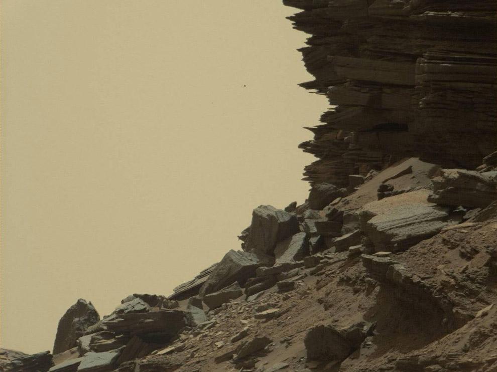 10. Следы Марсохода. (Фото JPL-Caltech | NASA):