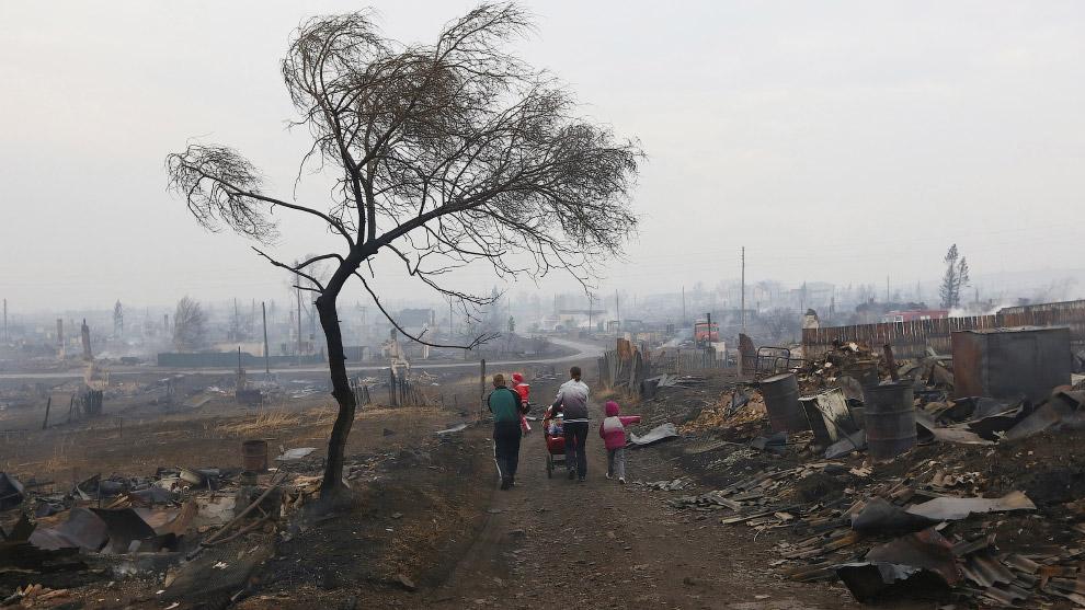 6. Хоттабыч Местный житель из бывшего поселка Шира, Хакасия, 13 апреля 2015. (Фото Ilya Naymus