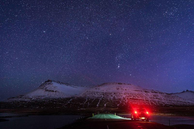 4. Увидеть северное сияние ему так и не удалось, однако по пути он встретил множество великолепных л
