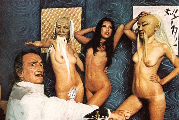 Легендарный художник, изображающий сны, иллюзии и области бессознательного, Сальвадор Дали сотруднич