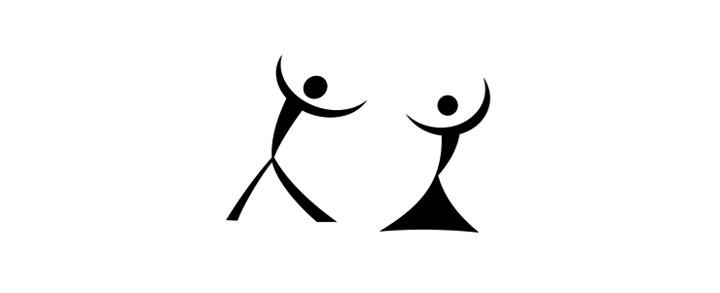На самом деле это силуэт танцующей пары, но если смотреть под другим углом… 15. Логотип бразил
