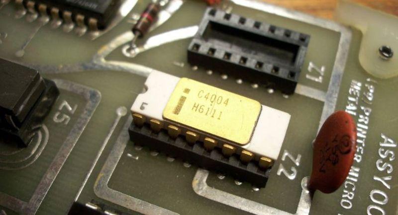 20. В 1971 году Intel представила процессор Intel 4004 — он был достаточно дешевым и надежным. Спуст