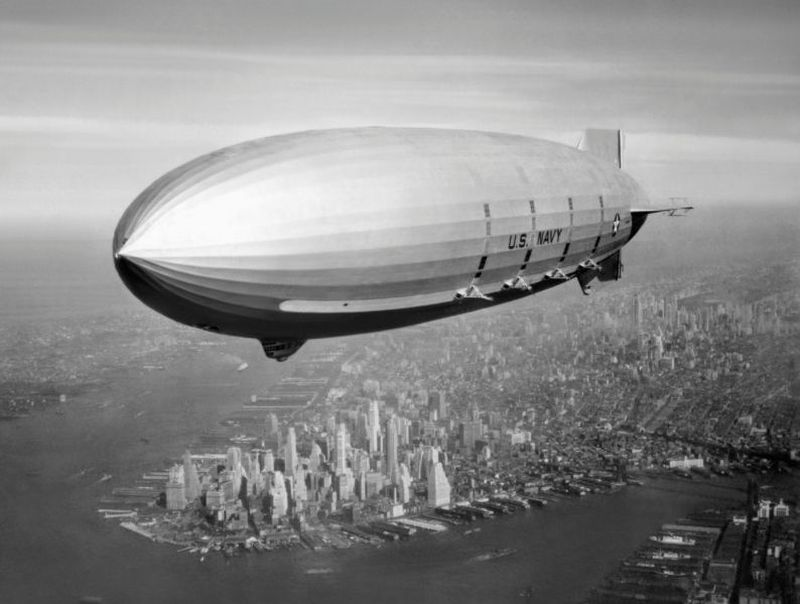 4. ВМС США сыграли важную роль в развитии Долины. В 1933 году военно-морской флот приобрел Моффетфил
