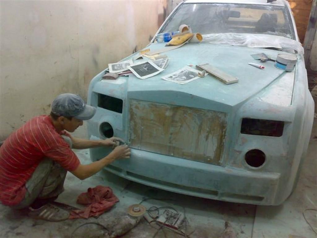 Как в Казахстане из старых Mercedes делают Rolls-Royce (23 фото)