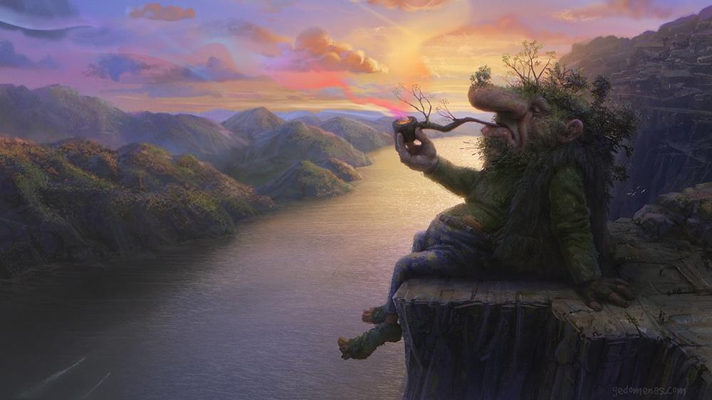 Эти художники рисуют волшебные миры, вкоторых хочется затеряться
