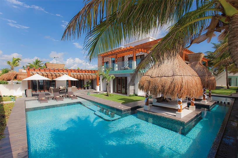 Вилла класса люкс Azul Villa Esmeralda в Мексике