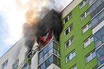 Пожар в Акдемическом 8 мая