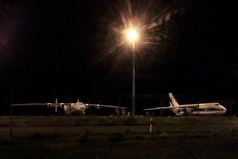 Ан-22 и Ан-124 в Лейпциге