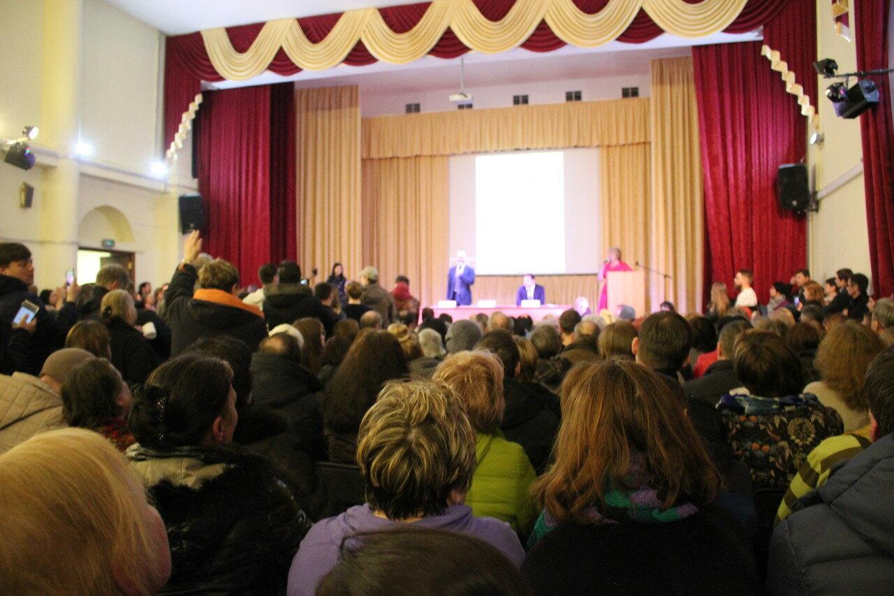 Обсуждение сноса пятиэтажек в Марьиной Роще