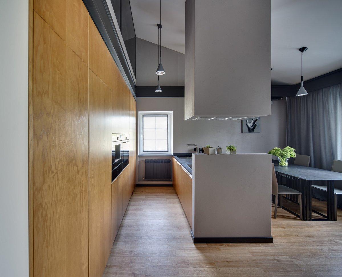 Двухуровневая квартира от Bordo Design
