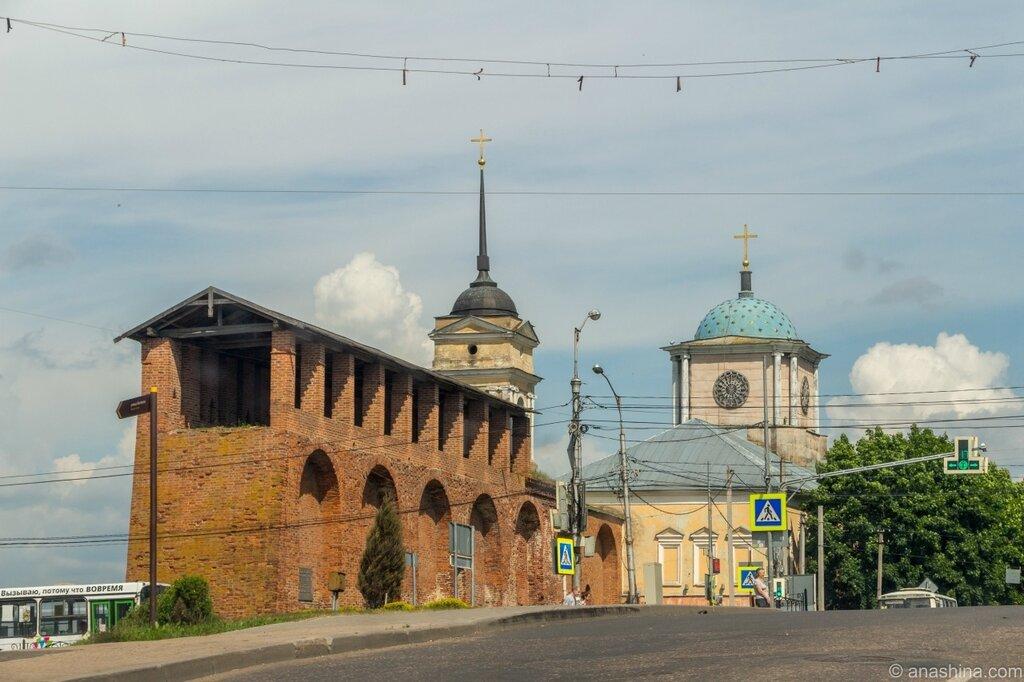 Днепровские ворота, Смоленская крепость, Смоленск
