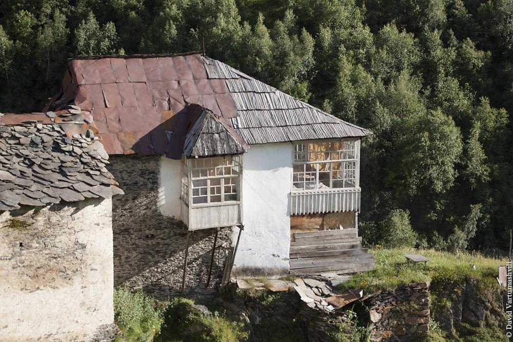 Грузия, Сванетия, Ушгули