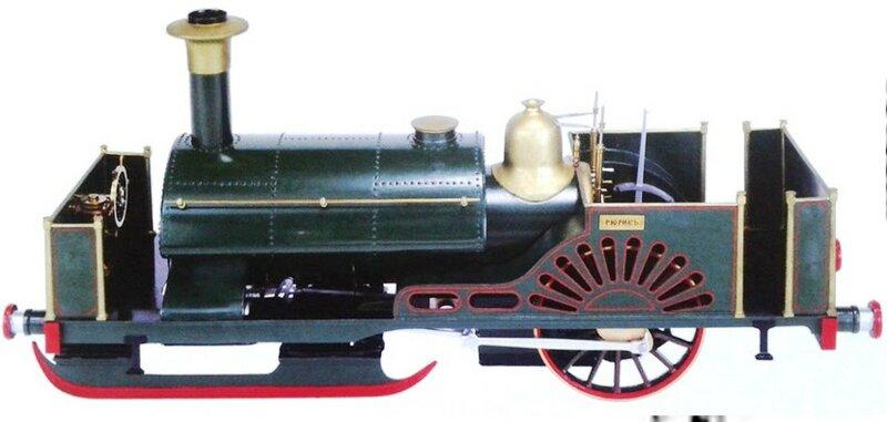 Модель «Рюрика» из Кенсингтонского научного музея..jpg