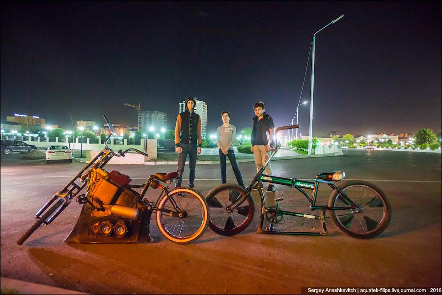 Чеченские заниженные велосипеды