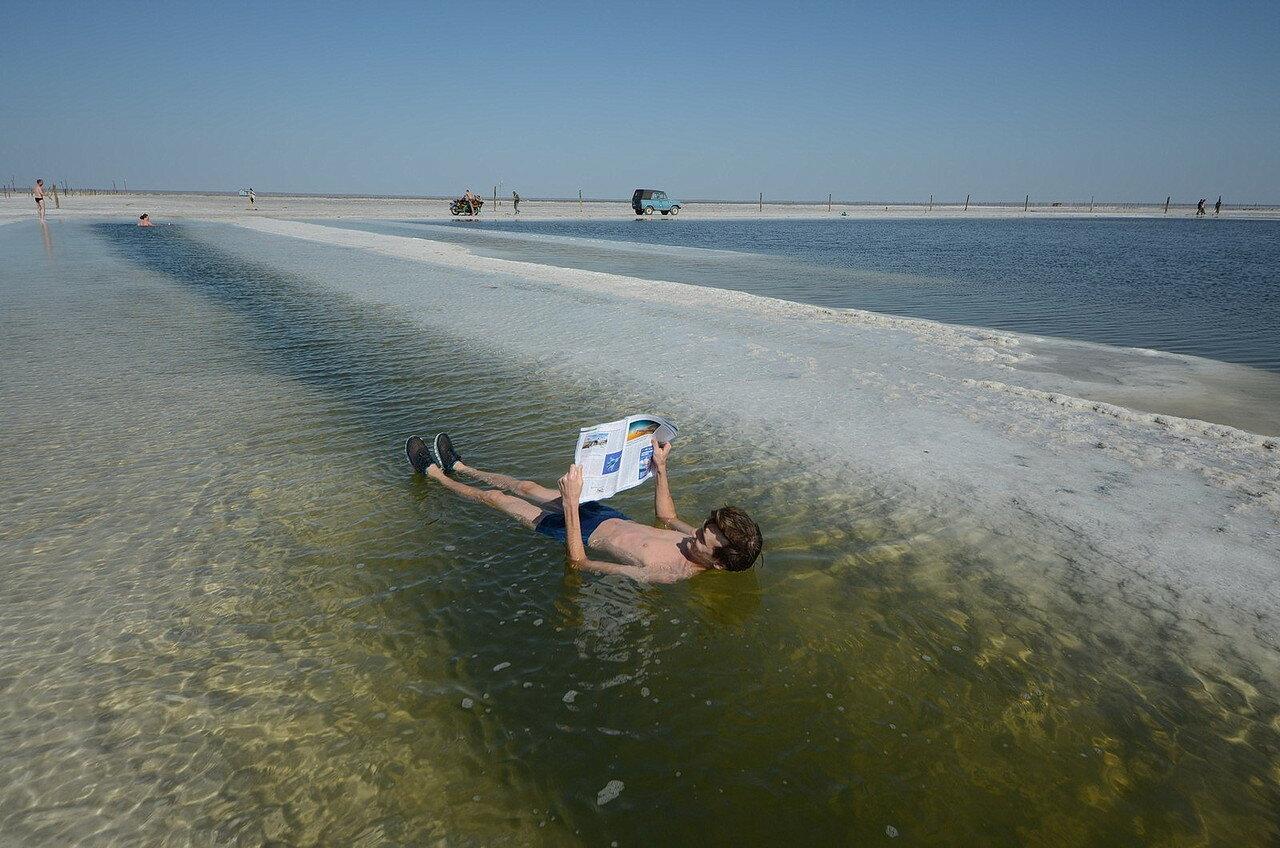 Баскунча́к — солёное озеро