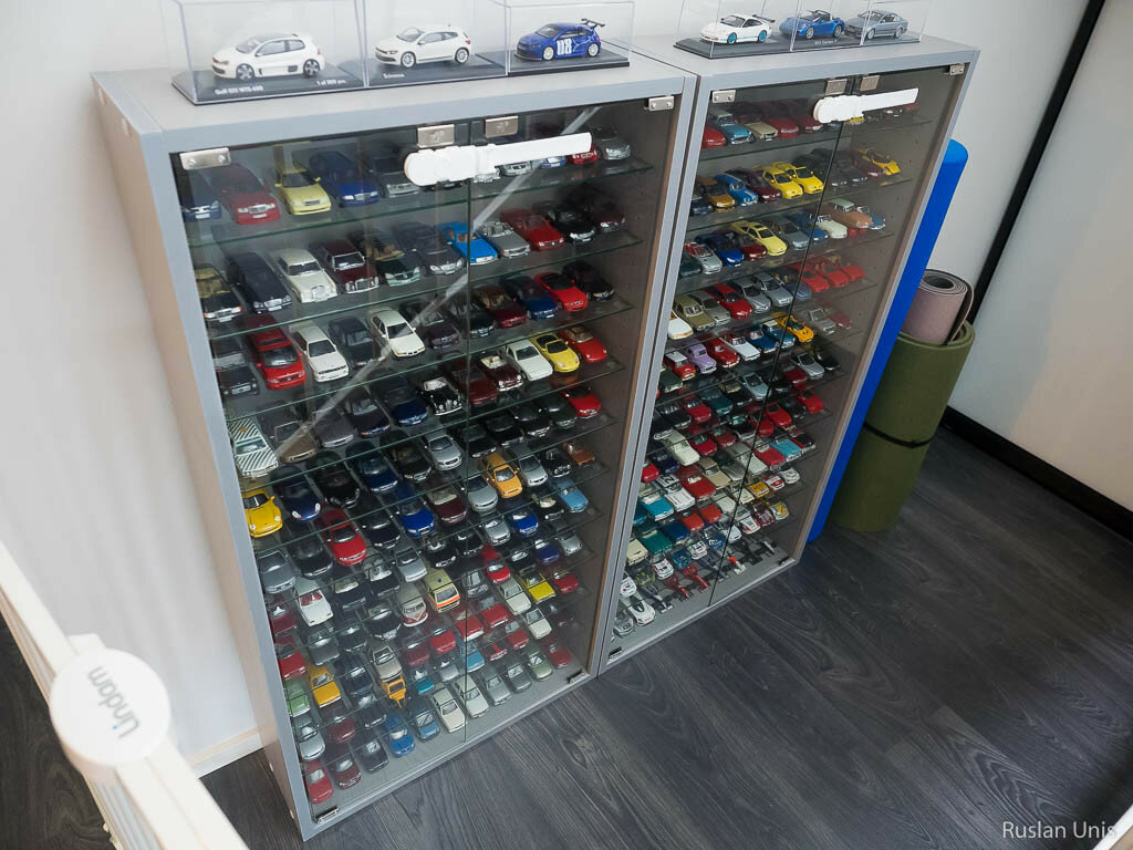 Коллекция моделей машин